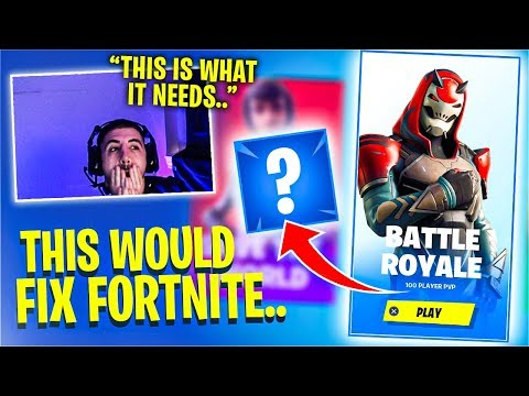 This *ONE* Change Can FIX Fortnite! Feat. SypherPK ...